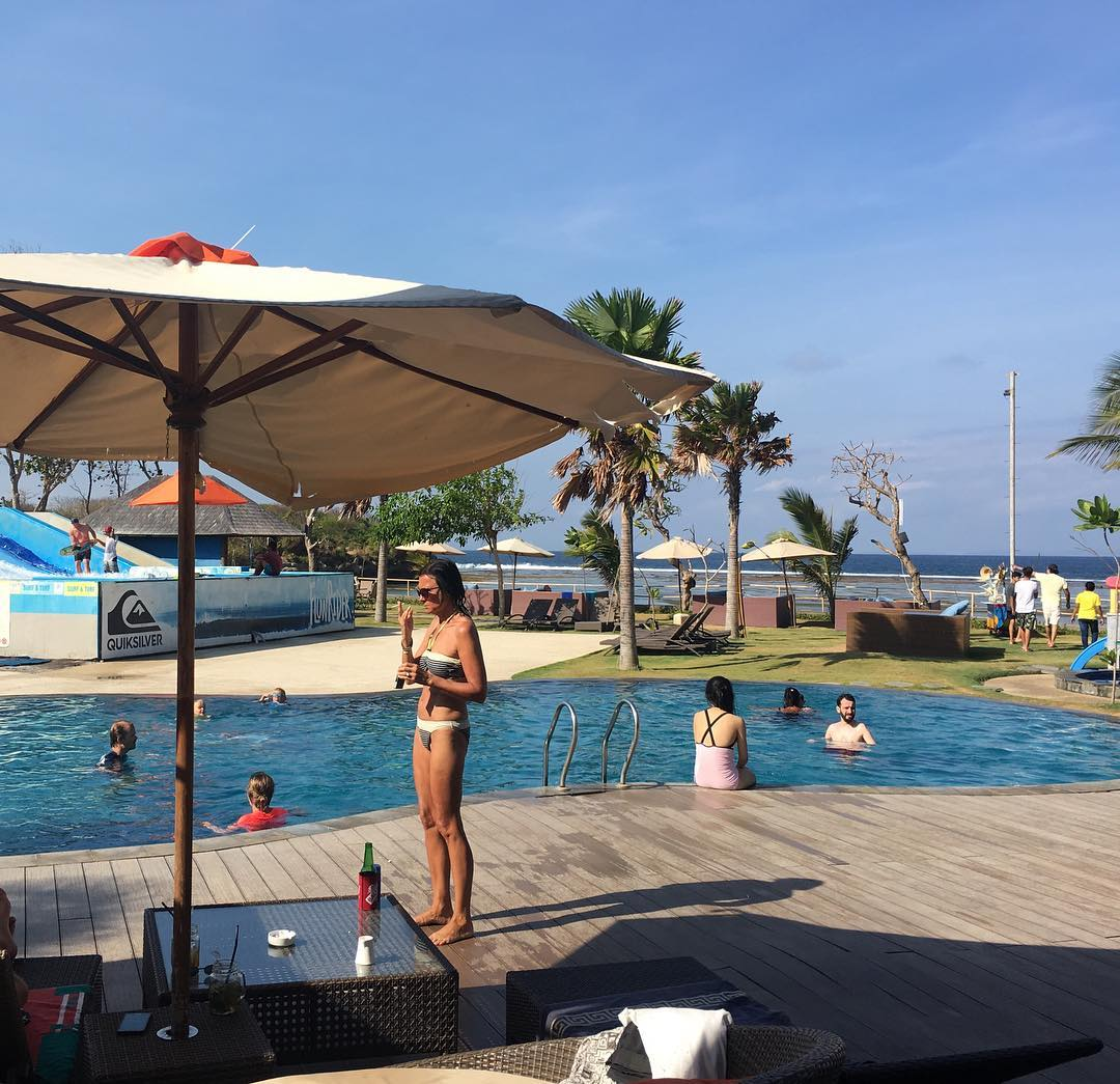 Bali Beach Club; Surf & Turf Beach Club