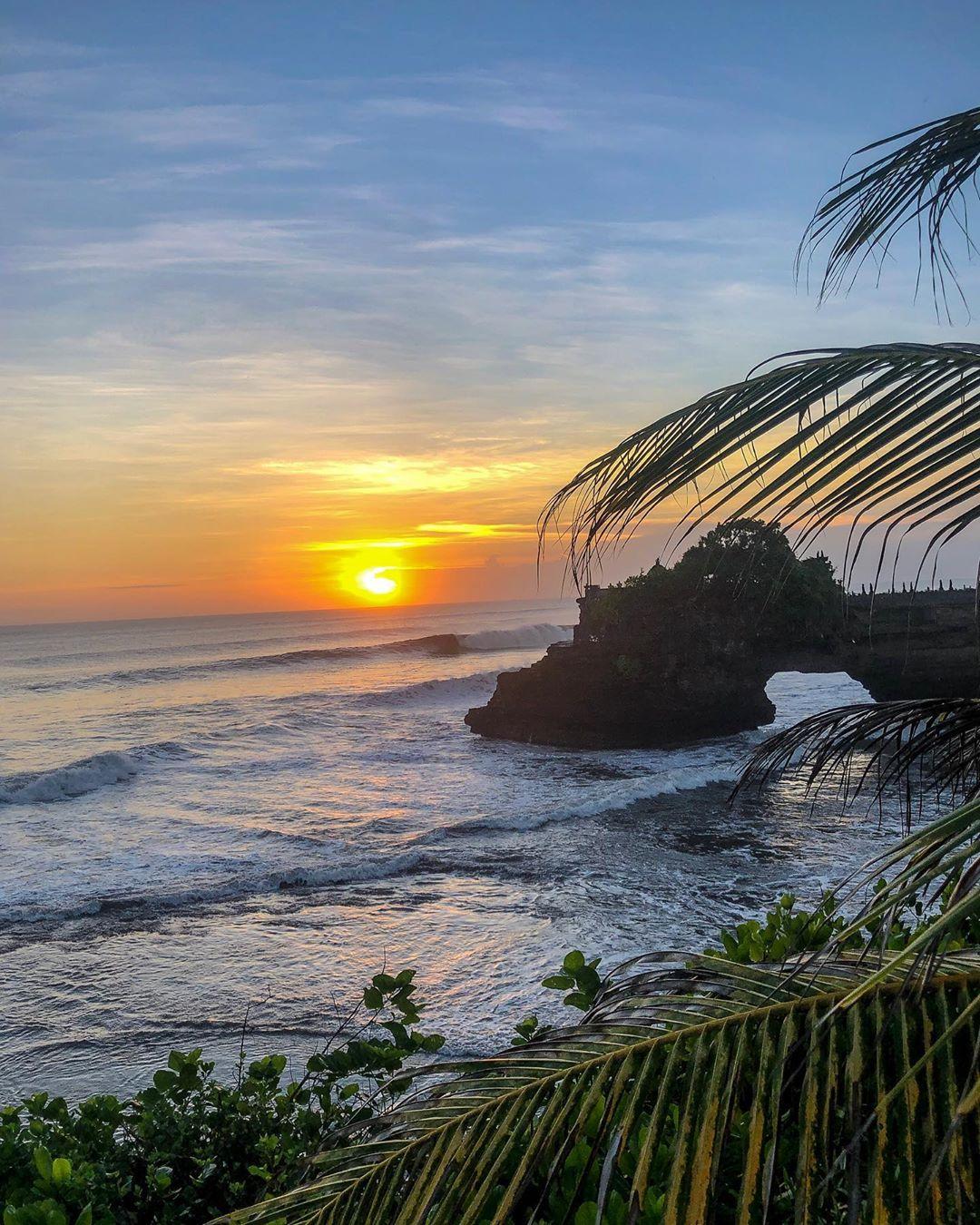 Beaches in Bali; Tanah Lot