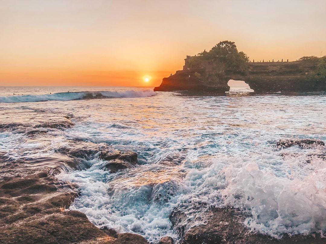 Places to See in Bali; Tanah Lot