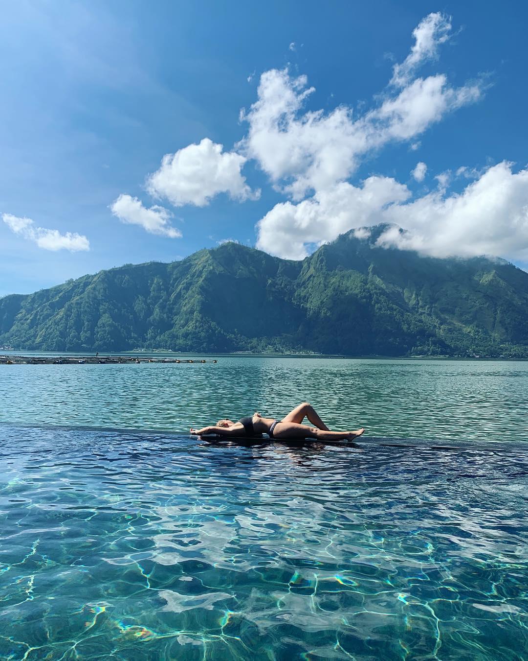 Hot Spring in Bali; Toya Bungkah Batur Natural Hot Springs