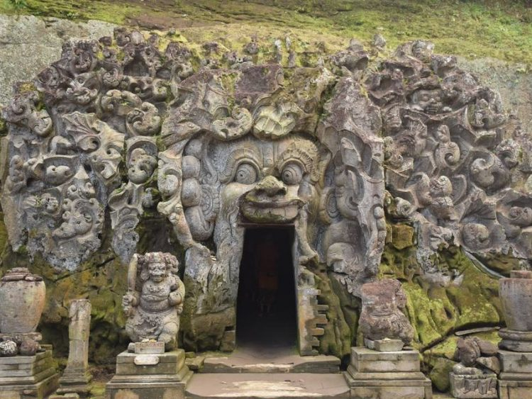 Bali Elephant Cave Ubud And Waterfall Tour With Private Transport Lunch