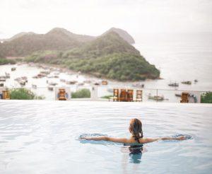 komodo hotel; Infinity Pool of La Cecile @dj_riani