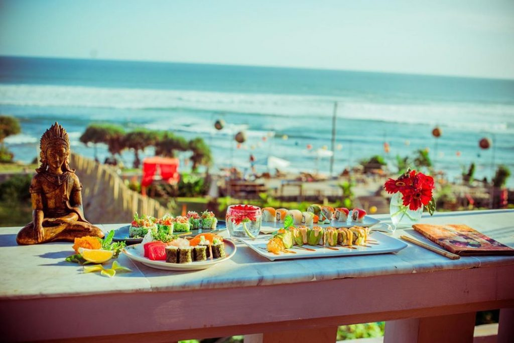 canggu restaurants; Ji Terrace by THE SEA @jirestaurantbali