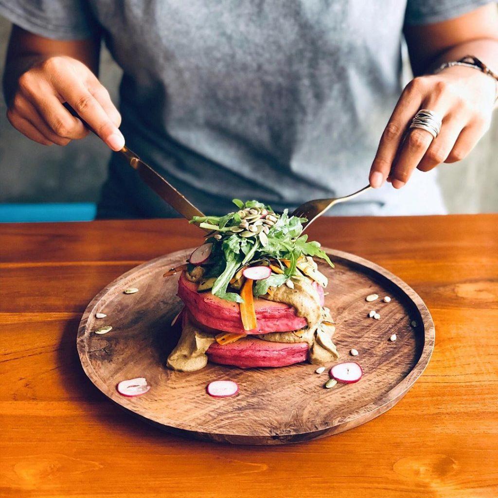canggu restaurants; New Pancake Baba Bagus @funkypancakesbali