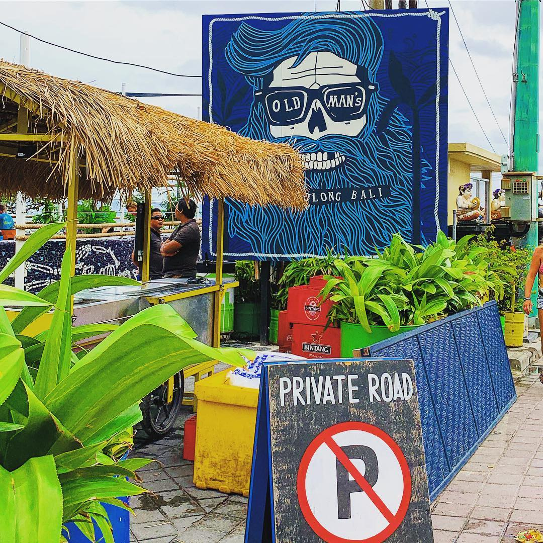 Old Man's Bali - IG @balistreetjapan