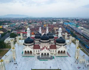 aceh grand mosque