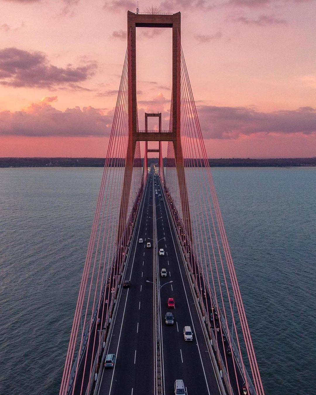 Suramadu Bridge - IG @raissatito