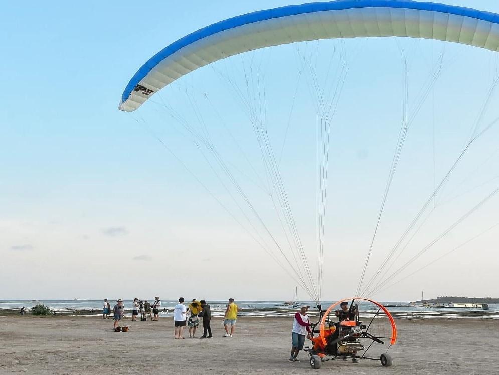 bali motor paragliding