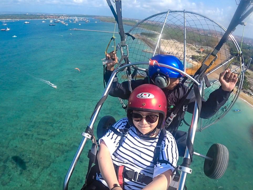 motor paragliding
