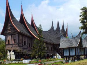 west sumatra traditional house
