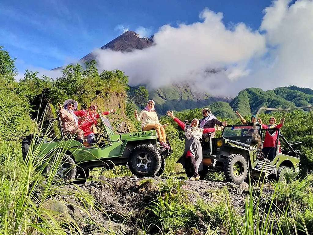 vulkan merapi jeep tour